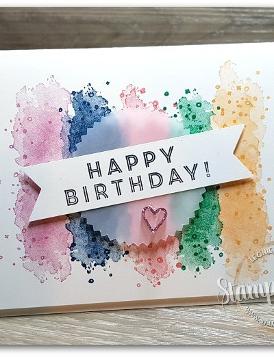 Eclectic Birthday Expressions by Leonie Schroder Independent Stampin' Up! Demonstrator Australia
