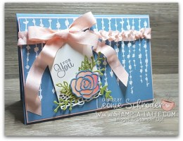 Sweet Soiree Embossed Decorative Masks Card by Leonie Schroder Independent Stampin' Up! Demonstrator Australia