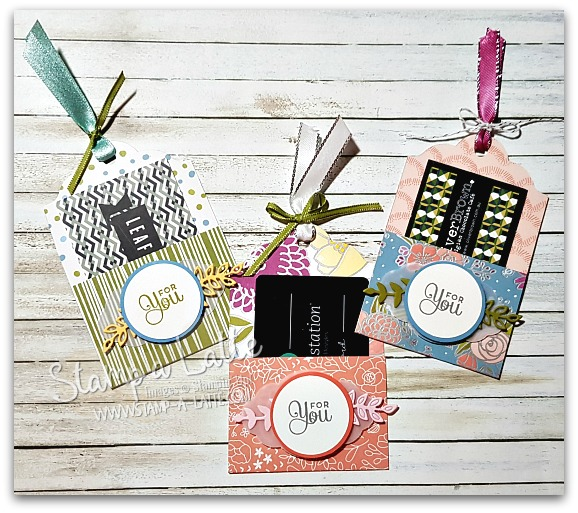 Sweet Soiree Gift Card Holders by Leonie Schroder Independent Stampin' Up! Demonstrator Australia
