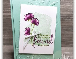 Lucky Friend by Leonie Schroder Independent Stampin' Up! Demonstrator Austraia