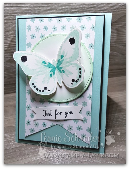 Watercolour Wings Card by Leonie Schroder Independent Stampin' Up! Demonstrators Australia