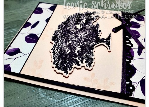 Tree in Blackberry Bliss using Nature's Poem Suite by Leonie Schroder Independent Stampin' Up! Demonstrator Australia
