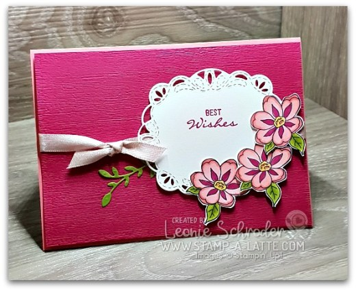 Birthday Wishes wth Botanical Bliss Bundle by Leonie Schroder Independent Stampin' Up! Demonstrator Australia