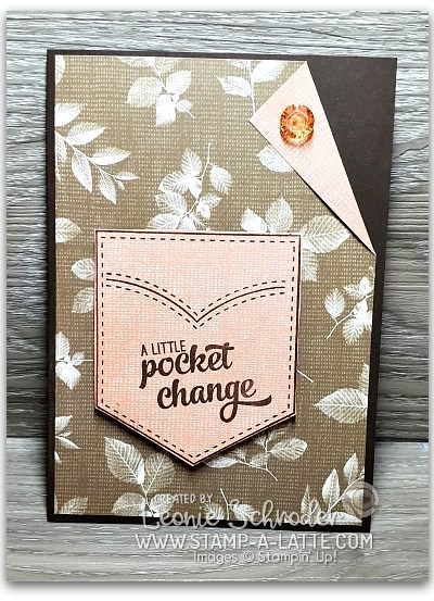 Pocket card for him by Leonie Schroder Independent Stampin' Up! Demonstrator Australia