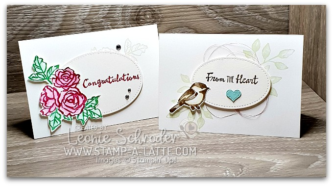 Petal Palette Cards for World Card Making Day by Leonie Schroder Independent Stampin' Up! Demonstrator Australia