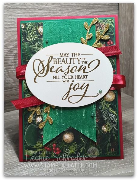 Traditional Christmas with All is Bright Suite from Stampin' Up! by Leonie Schroder Independent Stampin' Up! Demonstrator Australia