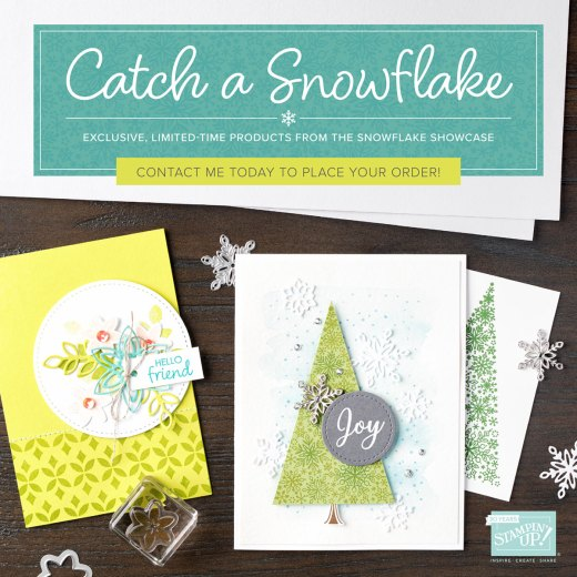 Purchase your Snowflake Products today - available during November or While Stocks Last