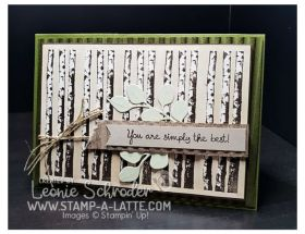 Winter Birch by Leonie Schroder Independent Stampin' Up! Demonstrator Australia