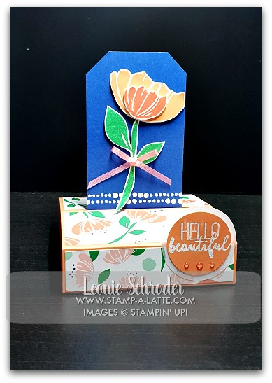 Freestanding Pop-Up Bloom by Bloom Card by Leonie Schroder Independent Stampin' Up! Demonstrator Australia