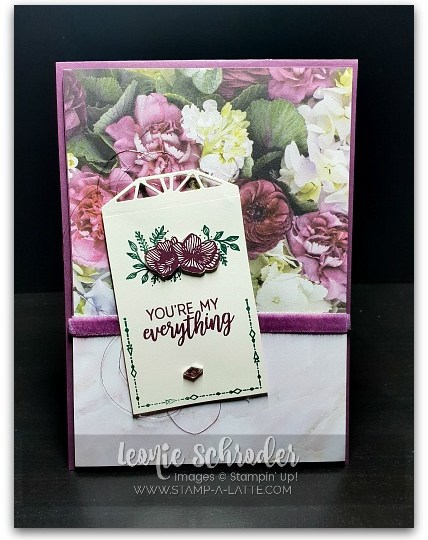 My Everything by Leonie Schroder Independent Stampin' Up! Demonstrator Australia