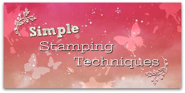 Simple Stamping Techniques International Blog Hop