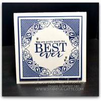 Best Ever using All Adorned by Leonie Schroder Independent Stampin' Up! Demonstrator Australia