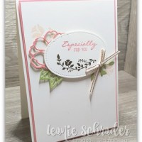 Especially for You using Botanical Bliss created by Leonie Schroder Independent Stampin' Up! Demonstrator Australia