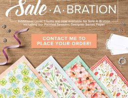 choose from over 20 products for free with a qualifying order with Leonie Schroder Independent Stampin' Up! Demonstrator Australia