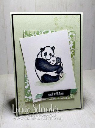 Wildly Happy with Stampin' Blends  by Leonie Schroder Independent Stampin' Up! Demonstrator Australia
