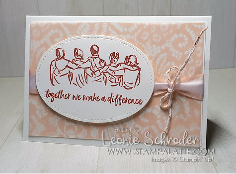 Together using Artfully Aware by Leonie Schroder Independent Stampin' Up! Demonstrator Australia