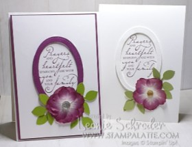 unique flowers created using the Pressed Petals Washi Tape by Leonie Schroder Independent Stampin' Up! Demonstrator Australia