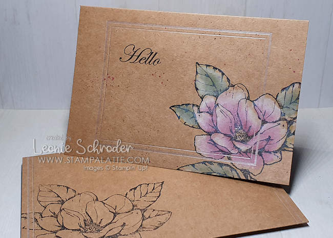 Muted Morning Magnolia card by Leonie Schroder Independent Stampin' Up! Demonstrator Australia
