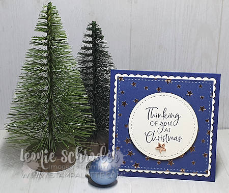 Brightly Gleaming Star Card from my Christmas Box by Leonie Schroder Independent Stampin' Up! Demonstrator Australia