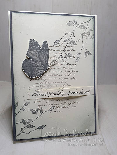 Very Versailles Butterfly Card by Leonie Schroder Independent Stampin' Up! Demonstrator Australia