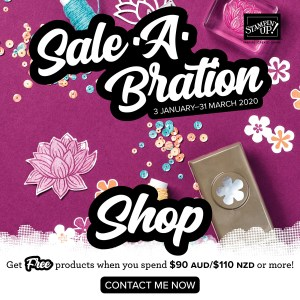 Shop Saleabration with Leonie Schroder Independent Stampin' Up! Demonstrator Australia