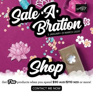 Shop Saleabration with Leonie Schroder Independent Stampin' Up! Demonstrator Australia