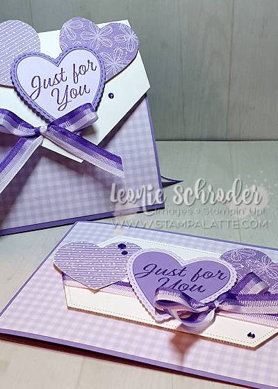Highland Hearts using Pleased as Punch Papers from Product Coordination Release by Leonie Schroder Independent Stampin Up! Demonstrator Australia
