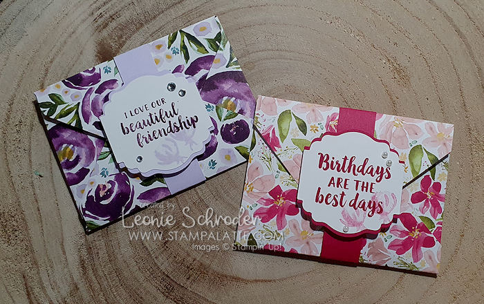 Fun Envelope Cards for Mum on Mother's Day by Leonie Schroder Independent Stampin' Up! Demonstrator Australia