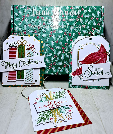 Tag Buffet Project Kit with alternate designs by Leonie Schroder Independent Stampin' Up! Demonstrator Australia