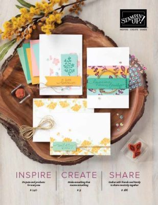 Stampin Up Annual Catalogue 20/21
