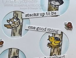 Woodland Punch Card by Leonie Schroder Independent Stampin' Up! Demonstrator Australia