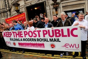 Royal Mail protests