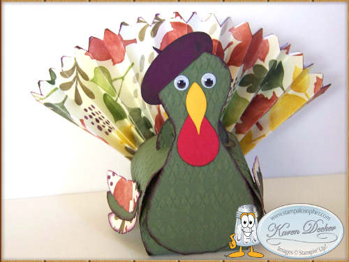 Curvy Keepsake Turkey