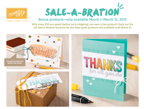 Sale A Bration New Products