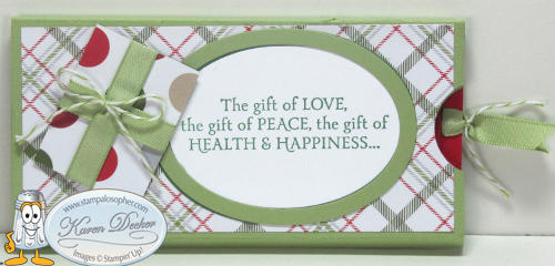 Gift Card Slider Card