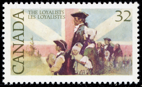Canada The United Empire Loyalists