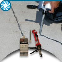 SCT-22 - Concrete Crack Repair Fast Cure Urethane