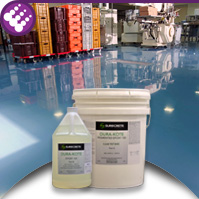 Pigmented Epoxy 100 - Colored Concrete Epoxy 100% Solids DuraKote High Performance
