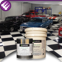 Pigmented Epoxy WB - Colored Water Based Concrete Epoxy High Performance DuraKote