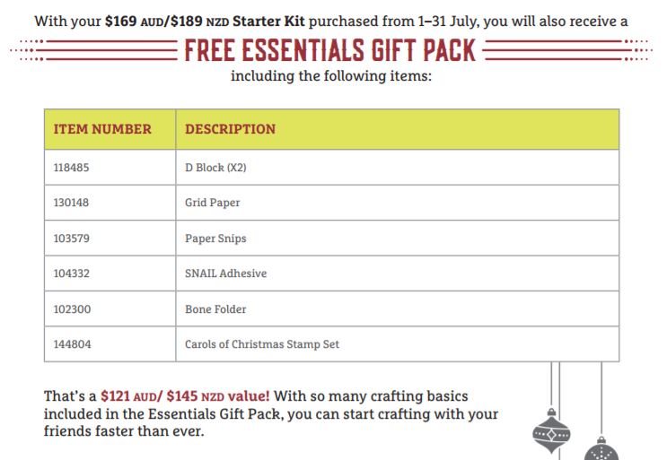 Free Essentials Gift Pack