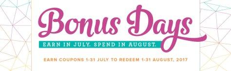 Bonus Days