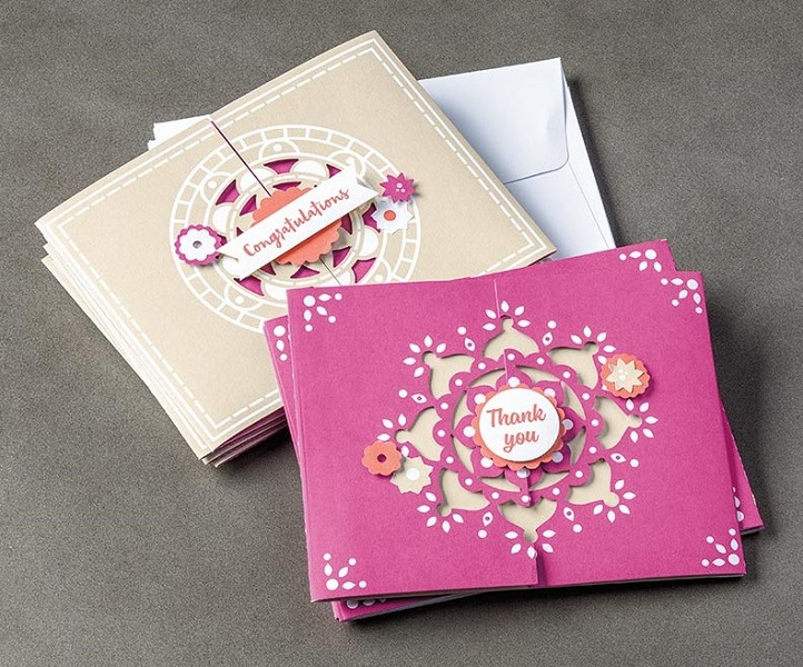 Mixed Medallions Card Kit