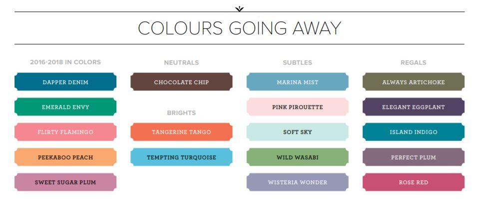 Retiring Colours
