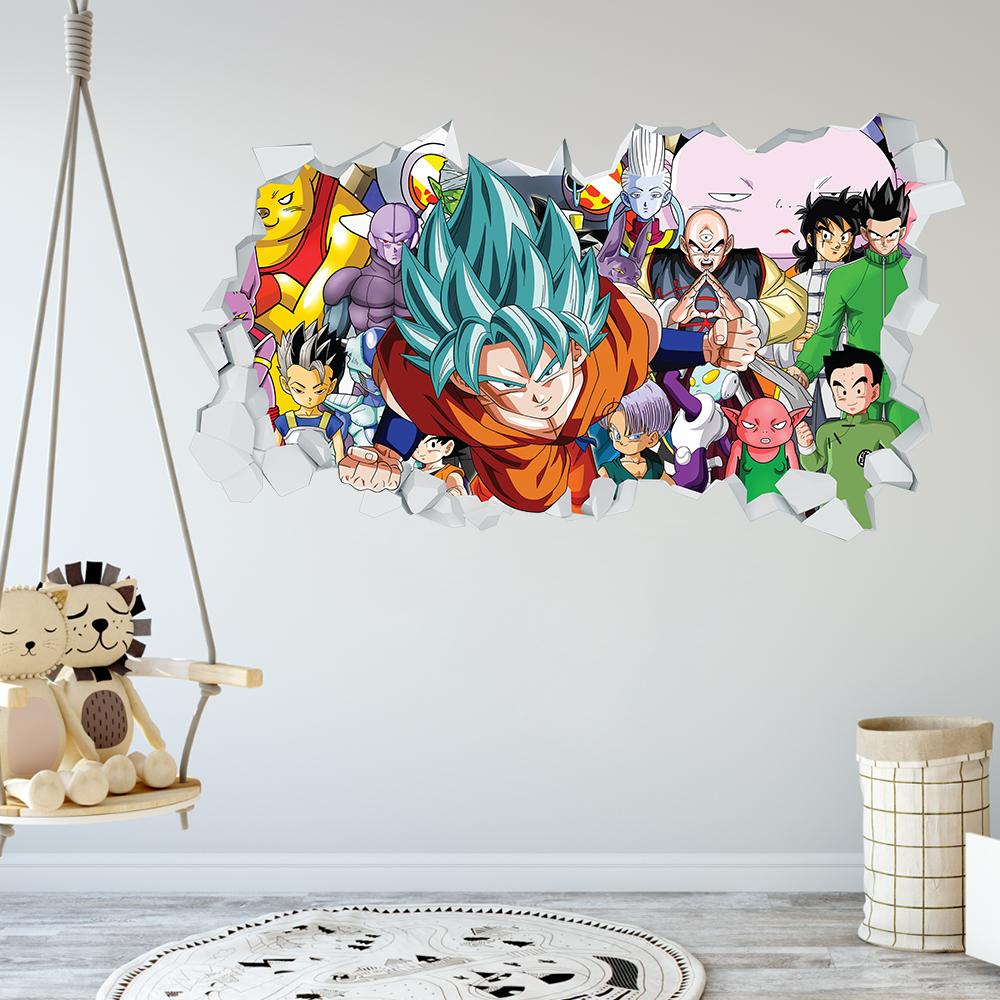 Adesivo Murale 3D - Dragon Ball