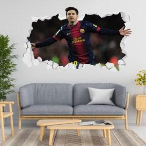 Adesivo 3D ~ Messi