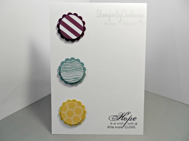 Stampin By Challenge