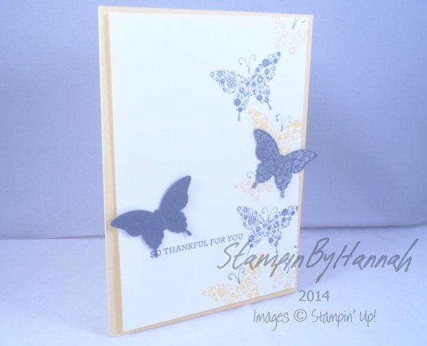 Stampin' Up! UK Papillion Potpourri I like you