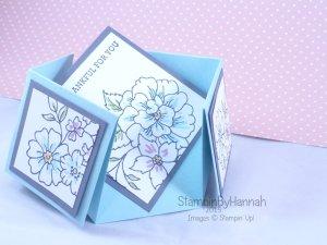 Stampin' Up! UK Double Diamond Fold Card I Like You
