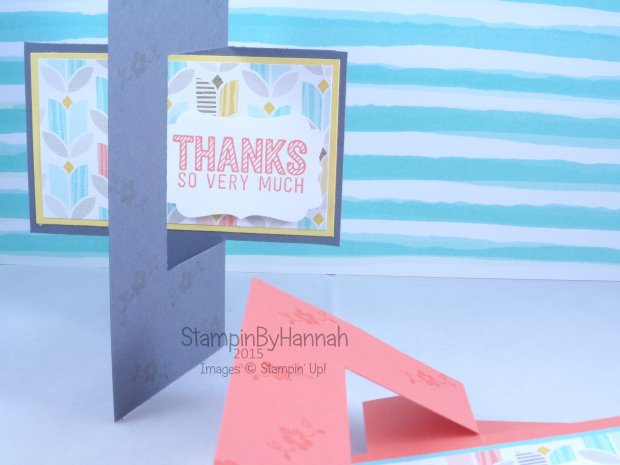 Stampin' Up! UK Sale-a-bration swing card Catherine Pooler