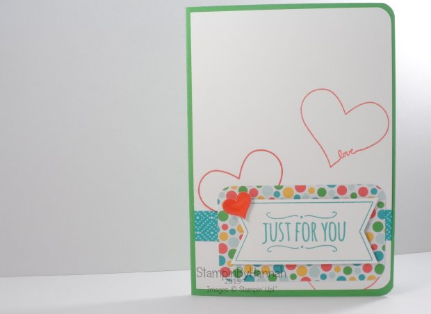 Stampin' Up! UK Freshly Made Sketches Cherries on top